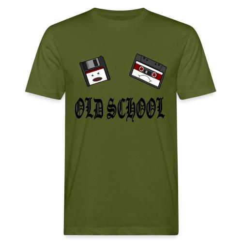 Old School Design - Männer Bio-T-Shirt