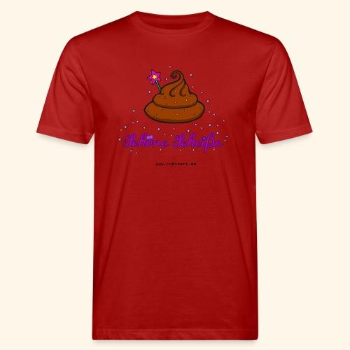 Schöne Scheiße Kacke - Männer Bio-T-Shirt