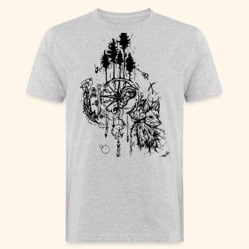 renard nature - T-shirt bio Homme