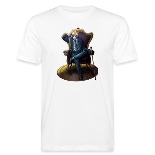 Bitcoin Monkey King - Gamma Edition - Männer Bio-T-Shirt