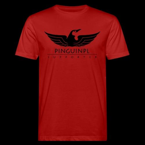 zwolennikiem Blackline - Ekologiczna koszulka męska