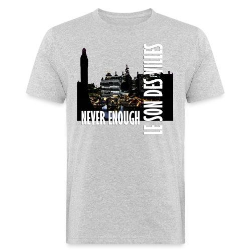 Le Son Des Villes : Vinyl by night - T-shirt bio Homme