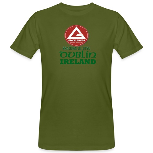Gracie Barra Dublin Gaelic Celtic Font PNG - Men's Organic T-Shirt