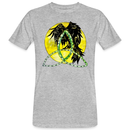 tribalrabe2 - Männer Bio-T-Shirt