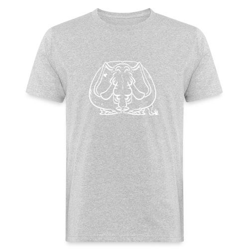 Linjefant - Ekologisk T-shirt herr