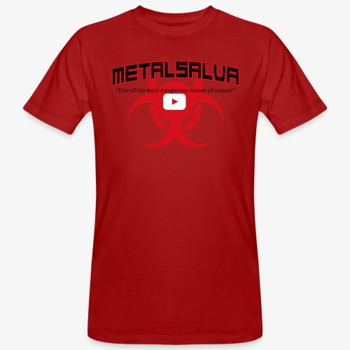 METALSALVA Cancer #1 - T-shirt ecologica da uomo