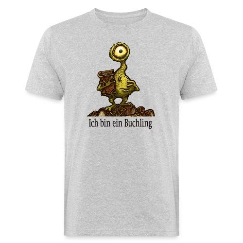Ich bin ein Buchling - Männer Bio-T-Shirt