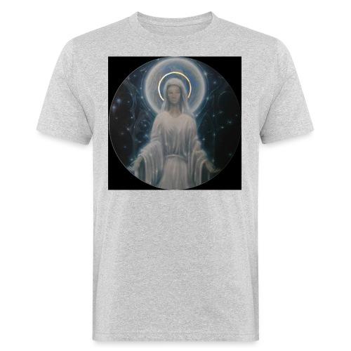 圣母玛利亚 Notre Dame by Jean Libon (Noir) - T-shirt bio Homme