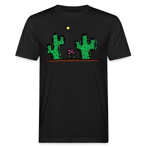 Cactus - T-shirt ecologica da uomo