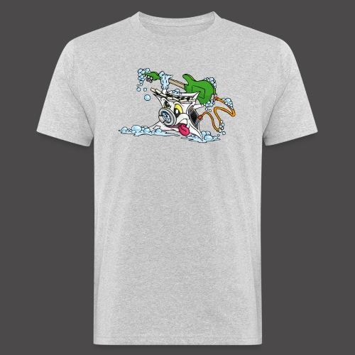 Wicked Washing Machine Wasmachine - Mannen Bio-T-shirt
