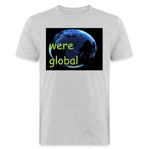 Were Global - Miesten luonnonmukainen t-paita
