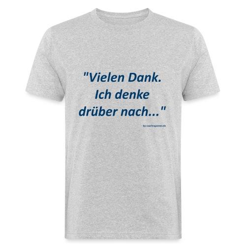 vielen dank - Männer Bio-T-Shirt
