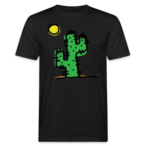 Cactus single - T-shirt ecologica da uomo