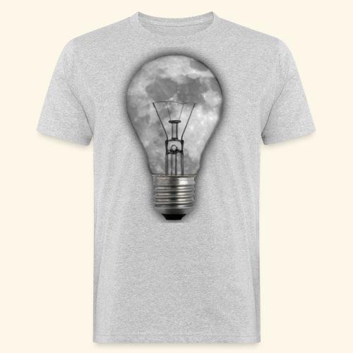 moon bulb - Camiseta ecológica hombre