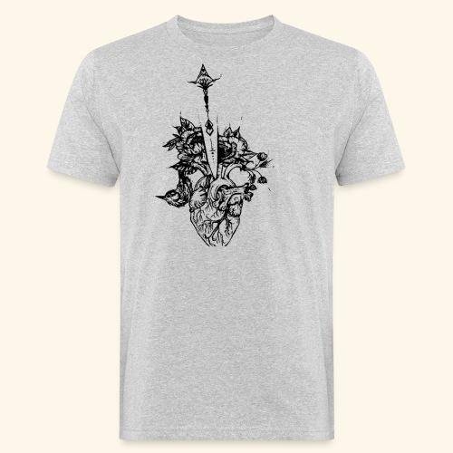 la nature du coeur - T-shirt bio Homme