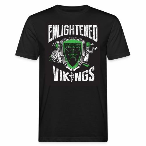 Enlightend Vikings - Økologisk T-skjorte for menn
