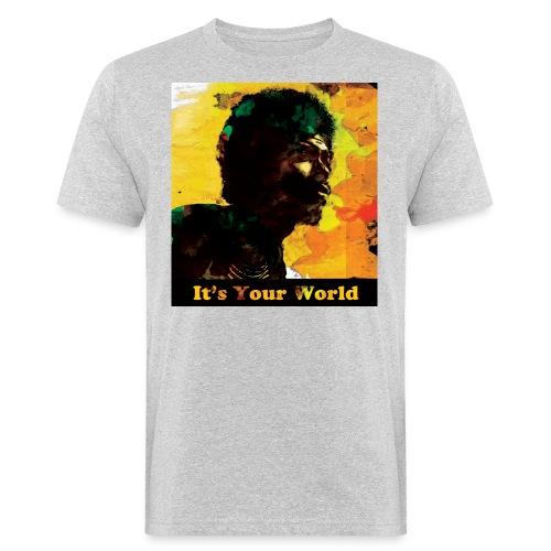 Gil Scott Heron It s Your World - Men's Organic T-Shirt