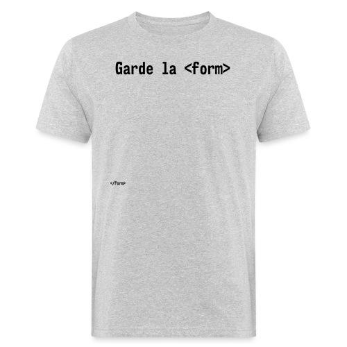 Design_dev_blague - T-shirt bio Homme