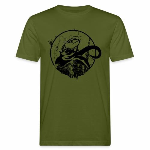 Bearded Dragon - Männer Bio-T-Shirt