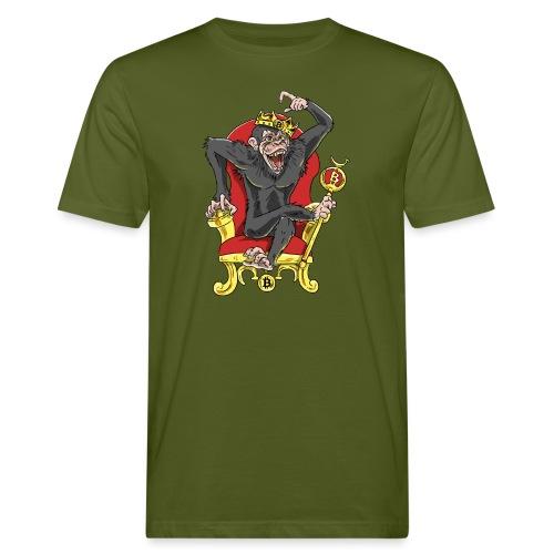 Bitcoin Monkey King - Beta Edition - Männer Bio-T-Shirt