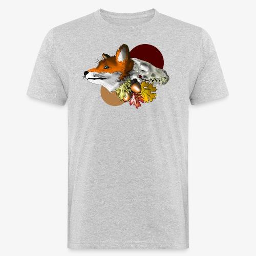 Autumn Foxey - T-shirt ecologica da uomo