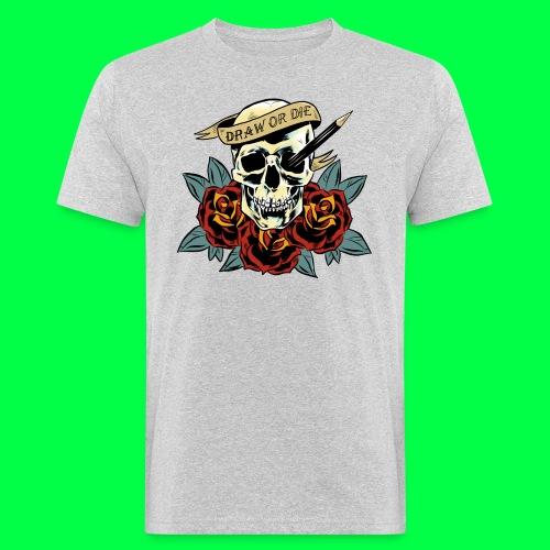 draw or die - T-shirt bio Homme