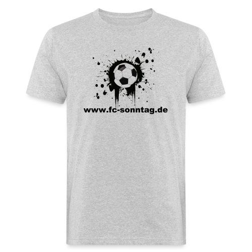 FC Sonntag Ball - Männer Bio-T-Shirt