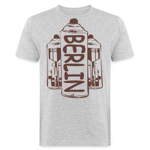 Berlin Power - Männer Bio-T-Shirt