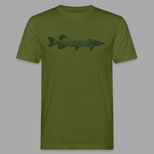Pike - Miesten luonnonmukainen t-paita