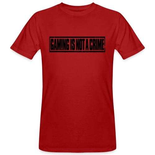 Gaming is not a crime - T-shirt bio Homme