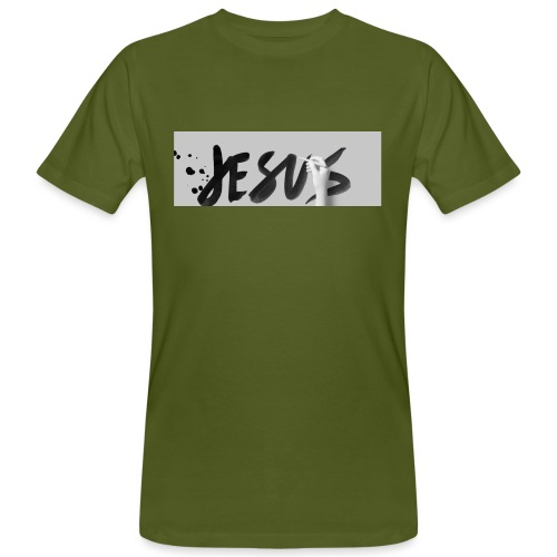 Jesus - Männer Bio-T-Shirt