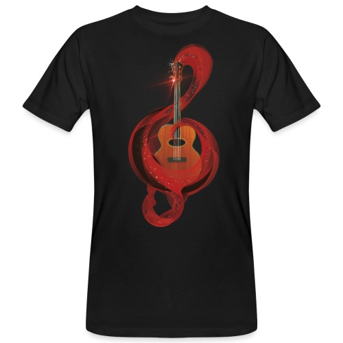 Power of music - T-shirt ecologica da uomo
