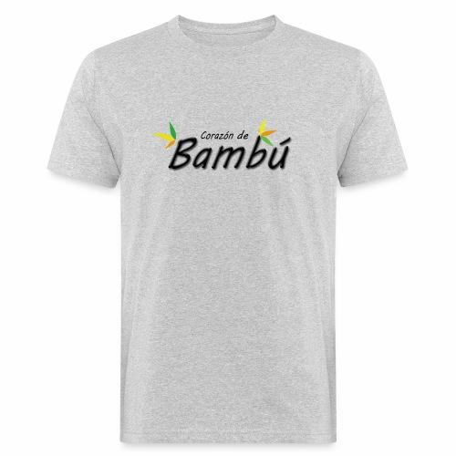 Corazón de bambú - Camiseta ecológica hombre
