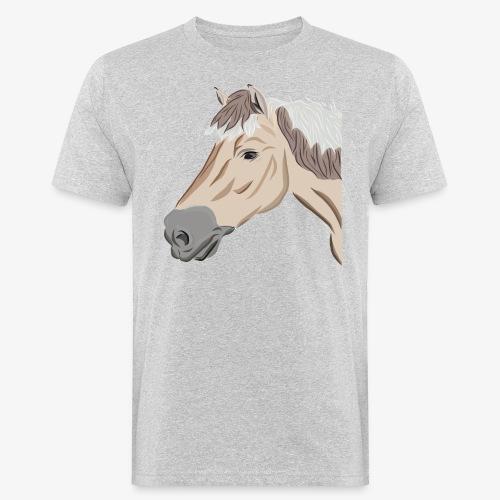 Fjord Pony - Männer Bio-T-Shirt