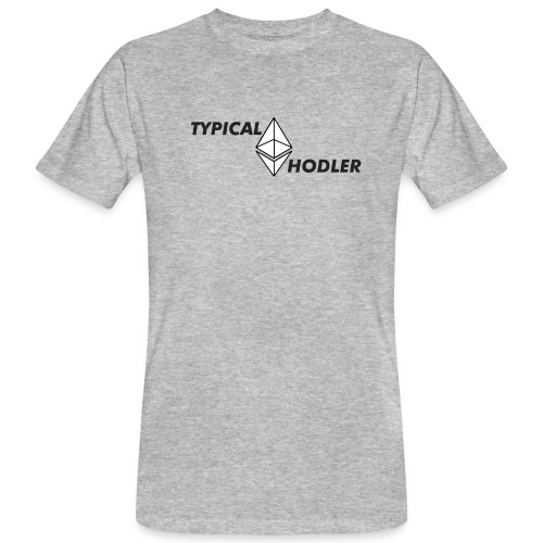 Typical ETH Hodler - Men's Organic T-Shirt