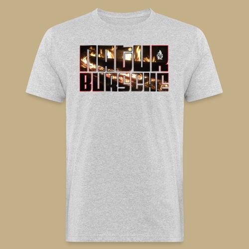 Naturbursche Fire - Männer Bio-T-Shirt