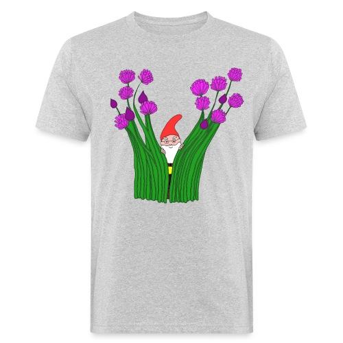 Schnittlauch-Zwerg - Männer Bio-T-Shirt