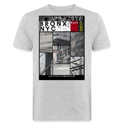 Bronx Nyc - Miesten luonnonmukainen t-paita