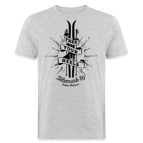 FreeYourHeels_merge - Miesten luonnonmukainen t-paita