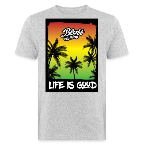 life is good - Camiseta ecológica hombre