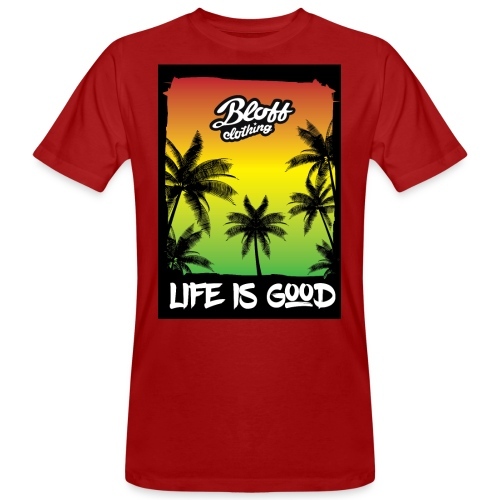 life is good - Camiseta ecológica hombre