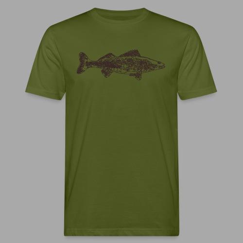 Zander - Miesten luonnonmukainen t-paita