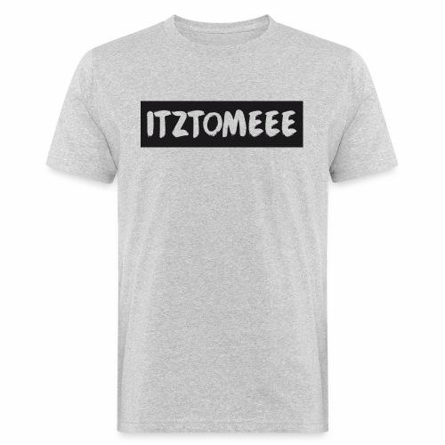 ItzTomeee Logo Black - Men's Organic T-Shirt