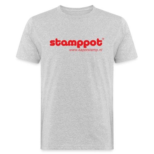 STAMPPOT - Mannen Bio-T-shirt