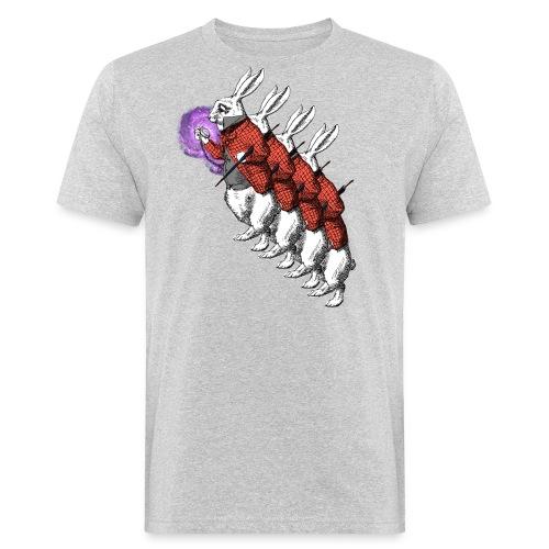 Verstahlter Hase - Männer Bio-T-Shirt