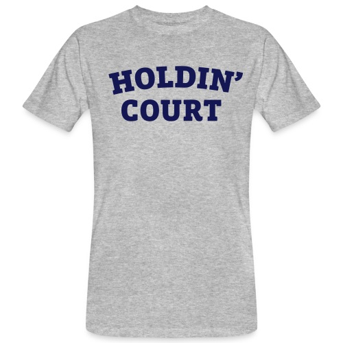Holdin' Court Varsity Logo - Men's Organic T-Shirt