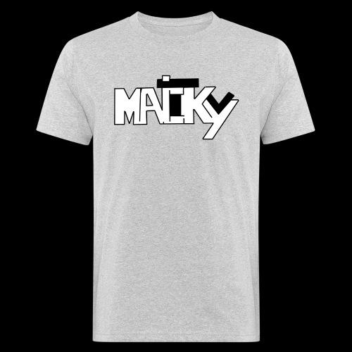 MaickyTv - Männer Bio-T-Shirt