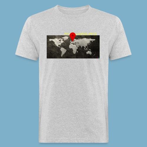 homeland my base - Männer Bio-T-Shirt