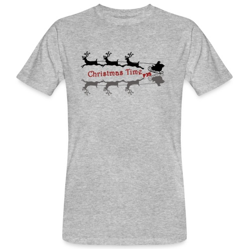 Christmas Time - Männer Bio-T-Shirt