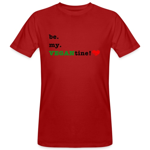 VEGANtine Green - Men's Organic T-Shirt
